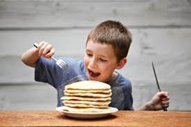 Sunshine Campus Pancake Breakfast Camper