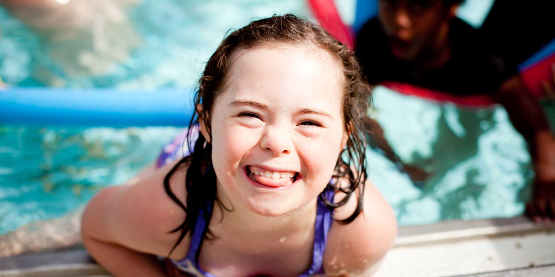 Sunshine Camper swimming- Banner